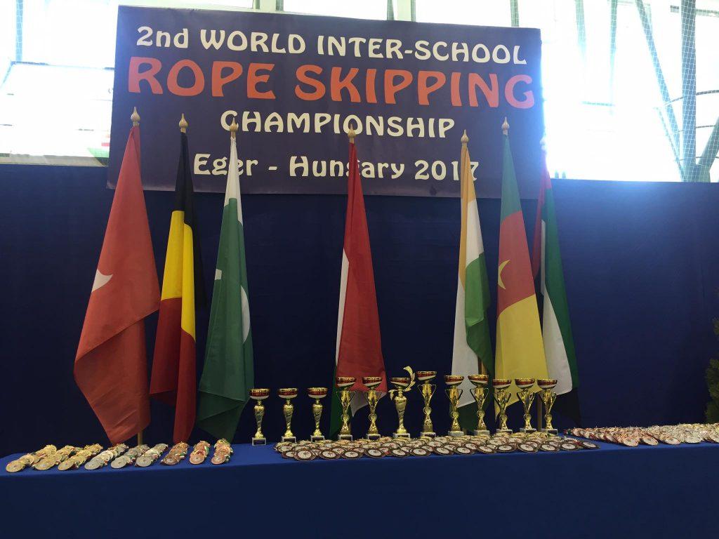2nd World Inter School Rope Skipping Championship