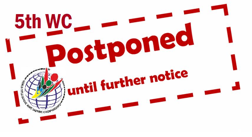 5th WC postponed