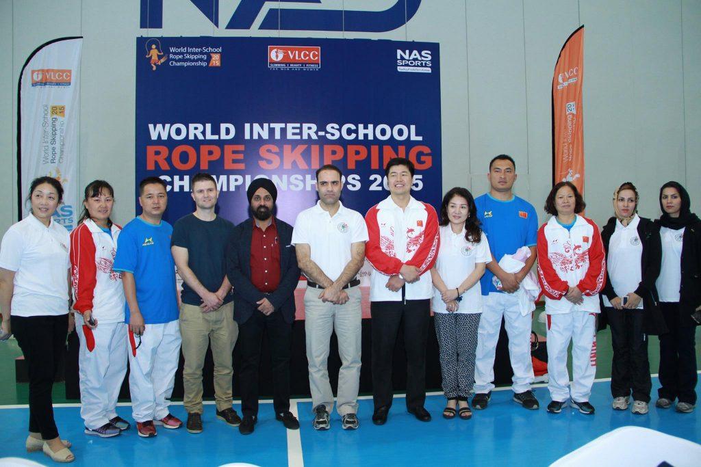 First World Inter School Rope Skipping Championship